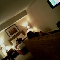 Photo taken at Chase Suite Hotel by Clay H. on 2/23/2012
