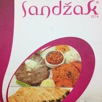 Photo taken at Sandzak Balkan Yemekleri by Korhan A. on 3/31/2012