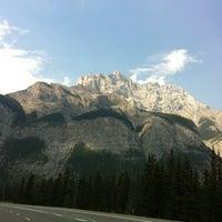 Photo taken at Banff National Park by Megan R. on 8/27/2012