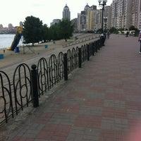 Снимок сделан в Оболонский пляж пользователем Diana🐯 ;. 6/1/2012