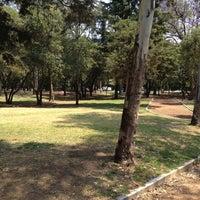 Photo taken at Parque Gandhi by Maria Helena L. on 4/12/2012