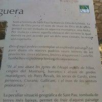 Photo taken at Ermita de Sant Pau by Joao R. on 7/17/2012