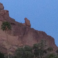 Photo taken at Sanctuary Resort on Camelback by Matthew B. on 3/26/2012