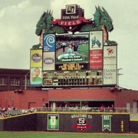 Photo taken at Fifth Third Field by Tanner G. on 5/6/2012