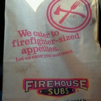 Photo taken at Firehouse Subs by Vickie S. on 2/25/2012