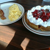 Photo taken at Belgian Waffle & Steakhouse by Ron L. on 5/12/2012