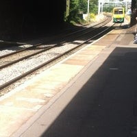 Photo taken at Hamstead Railway Station (HSD) by Gav C. on 8/4/2012