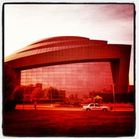 Photo taken at Cobb Energy Performing Arts Centre by Ilovetapatio on 3/28/2012