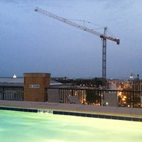 Photo taken at The Whitman Rooftop Pool by Lisa A. on 5/27/2012