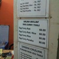 Photo taken at Sanjha Chulha by Satyam G. on 8/21/2012