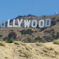 Photo taken at Hollywood Sign View by Micah S. on 7/1/2012