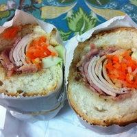 Photo taken at Saigon Vietnamese Sandwich Deli by Megan D. on 7/21/2012
