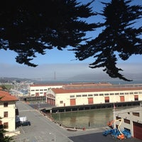 Photo taken at Fort Mason by Aaron F. on 7/4/2012