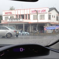 Photo taken at Double Lion Hotel by Asykin M. on 8/20/2012