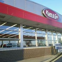 Photo taken at Kum & Go by Emily Y. on 3/6/2012