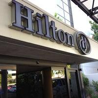 Photo taken at Hilton Sacramento Arden West by Brandy K. on 5/8/2012