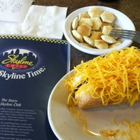 Photo taken at Skyline Chili by Tracy W. on 3/9/2012