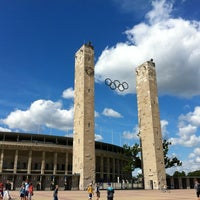 Photo taken at Olympiastadion by Roy S. on 8/12/2012