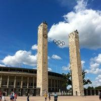 8/12/2012 tarihinde Roy S.ziyaretçi tarafından Olympiastadion'de çekilen fotoğraf