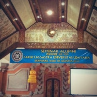 Photo taken at Fakultas Sastra by Adil E. on 8/8/2012