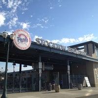 Photo taken at Stockton Ballpark by Christopher P. on 8/13/2012
