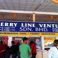 Photo taken at Jeti Kuala Perlis by Ennyisk on 3/1/2012