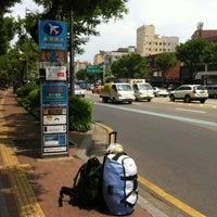 Photo taken at 압구정역 공항버스 by iamspanky on 6/13/2012