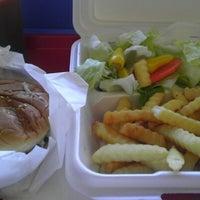 Photo taken at Olympic Burger & Teriyaki by Tai C. on 8/27/2012
