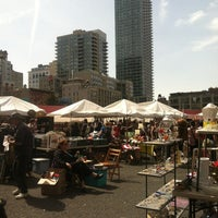 Photo taken at Hell's Kitchen Flea Market by Michael V. on 4/14/2012