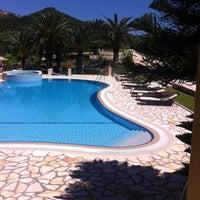 Photo taken at Hotel Mikros Paradisos Sivota by Theodosis L. on 6/18/2012