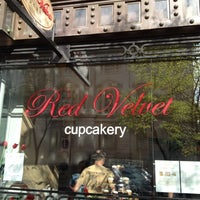 Photo taken at Red Velvet Cupcakery by Michael B. on 3/25/2012