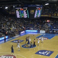 Photo taken at Palau Blaugrana by Roger S. on 6/6/2012