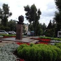 Photo taken at Памятник Ю.А. Гагарину by Dima on 7/21/2012