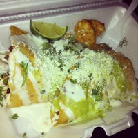 Photo taken at El Rey Del Taco Truck by Irene H. on 5/5/2012