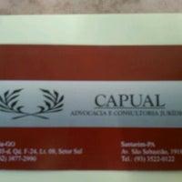 Photo taken at Capual Advocacia E Consultoria Jurídica by Leon P. on 6/18/2012