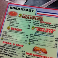 Photo taken at Waffle House by Martha F. on 8/25/2012