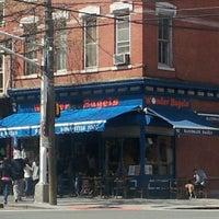 Photo taken at Wonder Bagels by G2 on 4/14/2012