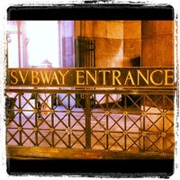 Photo taken at MTA Subway - Brooklyn Bridge/City Hall/Chambers St (4/5/6/J/Z) by Andre A. on 3/7/2012