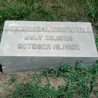 Photo taken at Mendal Churchill grave by Travis S. on 7/8/2012