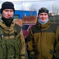 Photo taken at Война by Sergei T. on 4/21/2012