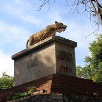 Photo taken at Taman Segitiga Macan by Ikka on 3/7/2012