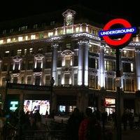 Photo taken at Oxford Circus London Underground Station by Latif on 3/20/2012