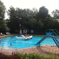 Photo taken at Freibad Friedenfels by Carsten on 8/4/2012