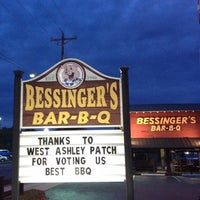 Photo taken at Bessinger's Barbeque by Alex K. on 5/15/2012