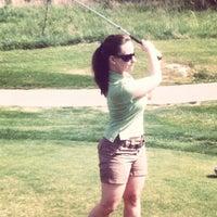 Photo taken at Crockett Ridge Golf Course by Aaron T. on 4/15/2012