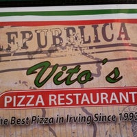 Photo taken at Vito's Pizza & Pasta by Garry M. on 7/14/2012
