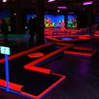 Photo taken at GlowGolf by Marcia D. on 2/26/2012