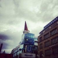 Photo taken at Neumarkt by Werner S. on 9/13/2012