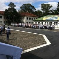 Photo taken at Academia de Polícia Militar do Barro Branco by Fabio L. on 4/23/2012