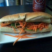 Photo taken at Nicky's Vietnamese Sandwiches by Constantino D. on 8/3/2012